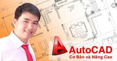 Hướng dẫn tự học Autocad từ cơ bản đến nâng cao