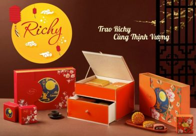 Bánh Trung Thu Richy.  Tinh Túy Hồn Việt
